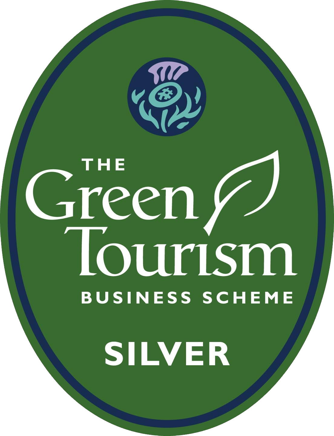 Green Tourism Silver Award Logo