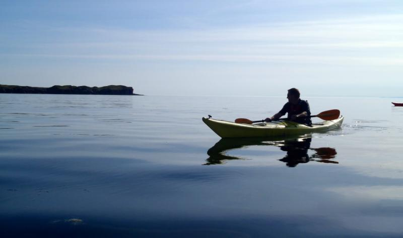 Out on the water with Norwest sea kayaking